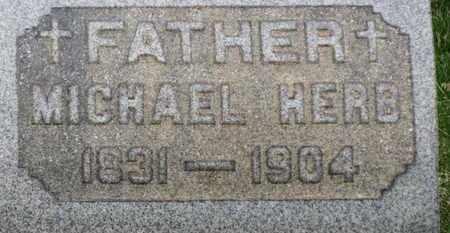 HERB, MICHAEL - Erie County, Ohio | MICHAEL HERB - Ohio Gravestone Photos