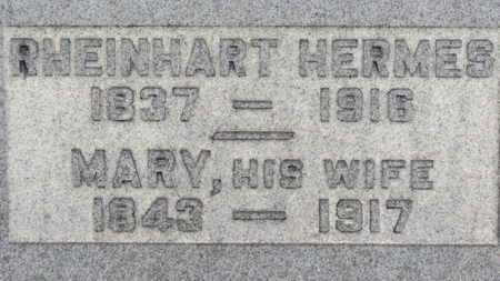 HERMES, RHEINHART - Erie County, Ohio | RHEINHART HERMES - Ohio Gravestone Photos