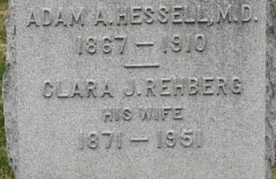 HESSELL, CLARA J. - Erie County, Ohio   CLARA J. HESSELL - Ohio Gravestone Photos