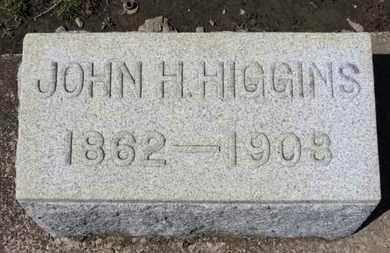 HIGGINS, JOHN H. - Erie County, Ohio   JOHN H. HIGGINS - Ohio Gravestone Photos