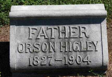 HIGLEY, ORSON - Erie County, Ohio   ORSON HIGLEY - Ohio Gravestone Photos