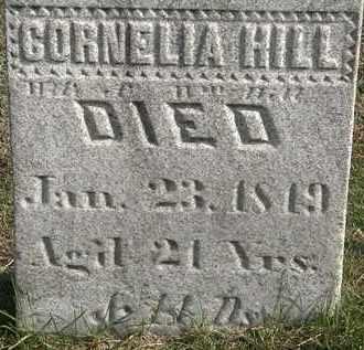 HILL, CORNELIA - Erie County, Ohio | CORNELIA HILL - Ohio Gravestone Photos