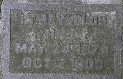 HILL, I.T. REYNOLDS - Erie County, Ohio | I.T. REYNOLDS HILL - Ohio Gravestone Photos