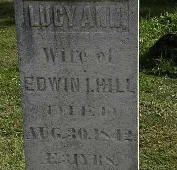 HILL, LUCY ANN - Erie County, Ohio | LUCY ANN HILL - Ohio Gravestone Photos