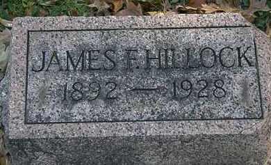 HILLOCK, JAMES F. - Erie County, Ohio | JAMES F. HILLOCK - Ohio Gravestone Photos