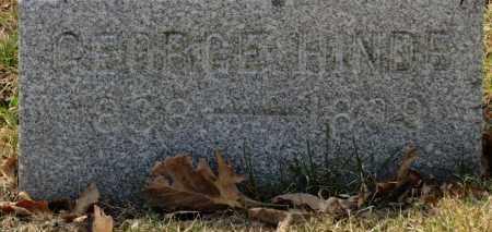HINDE, GEORGE - Erie County, Ohio   GEORGE HINDE - Ohio Gravestone Photos
