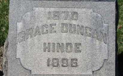 HINDE, GRACE - Erie County, Ohio | GRACE HINDE - Ohio Gravestone Photos