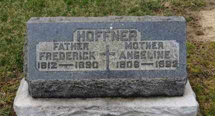 HOFFNER, FREDERICK - Erie County, Ohio | FREDERICK HOFFNER - Ohio Gravestone Photos