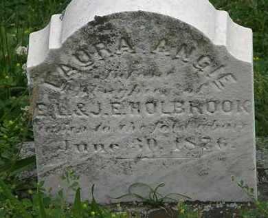 HOLBROOK, LAURA ANGIE - Erie County, Ohio | LAURA ANGIE HOLBROOK - Ohio Gravestone Photos