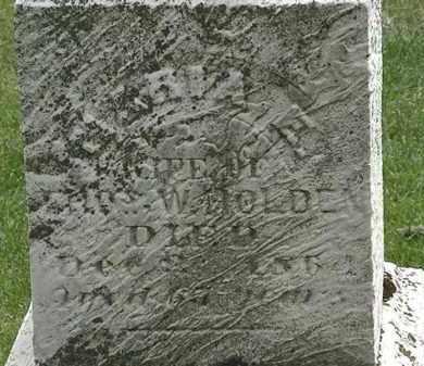 HOLDEN, MARIA E. - Erie County, Ohio   MARIA E. HOLDEN - Ohio Gravestone Photos
