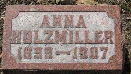 HOLZMILLER, ANNA - Erie County, Ohio | ANNA HOLZMILLER - Ohio Gravestone Photos