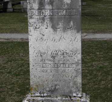 HOPKINS, MARY - Erie County, Ohio   MARY HOPKINS - Ohio Gravestone Photos
