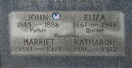 HOWARD, KATHARINE - Erie County, Ohio | KATHARINE HOWARD - Ohio Gravestone Photos