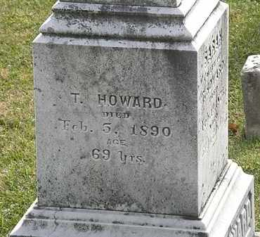 HOWARD, T. - Erie County, Ohio | T. HOWARD - Ohio Gravestone Photos