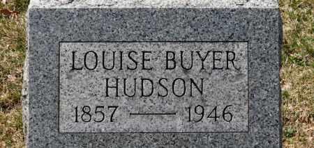HUDSON, LOUISE - Erie County, Ohio | LOUISE HUDSON - Ohio Gravestone Photos