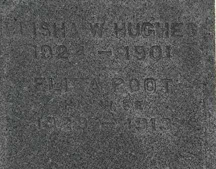 HUGHES, ELIZA - Erie County, Ohio | ELIZA HUGHES - Ohio Gravestone Photos