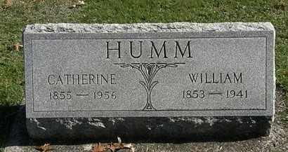 HUMM, CATHERINE - Erie County, Ohio | CATHERINE HUMM - Ohio Gravestone Photos