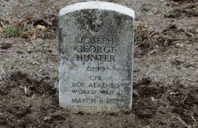 HUNTER, JOSEPH GEORGE - Erie County, Ohio   JOSEPH GEORGE HUNTER - Ohio Gravestone Photos