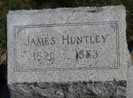HUNTLEY, JAMES - Erie County, Ohio | JAMES HUNTLEY - Ohio Gravestone Photos