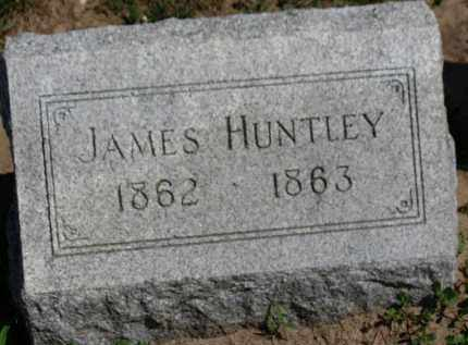 HUNTLEY, JAMES - Erie County, Ohio | JAMES HUNTLEY - Ohio Gravestone Photos