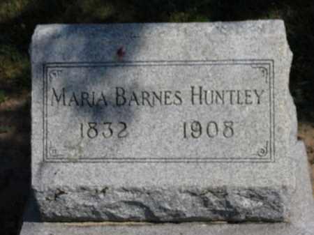 HUNTLEY, MARIA - Erie County, Ohio | MARIA HUNTLEY - Ohio Gravestone Photos