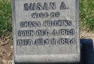 HUTCHINS, SUSAN A. - Erie County, Ohio   SUSAN A. HUTCHINS - Ohio Gravestone Photos
