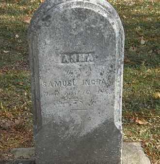 INGHAM, SAMUEL - Erie County, Ohio   SAMUEL INGHAM - Ohio Gravestone Photos