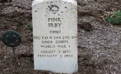 IRBY, PINK - Erie County, Ohio | PINK IRBY - Ohio Gravestone Photos