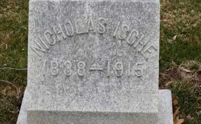ISCHE, NICHOLAS - Erie County, Ohio | NICHOLAS ISCHE - Ohio Gravestone Photos