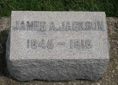 JACKSON, JAMES A. - Erie County, Ohio | JAMES A. JACKSON - Ohio Gravestone Photos