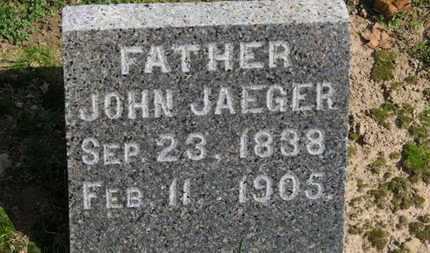 JAEGER, JOHN - Erie County, Ohio | JOHN JAEGER - Ohio Gravestone Photos