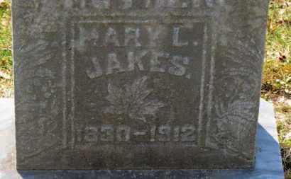 JAKES, MARY L. - Erie County, Ohio | MARY L. JAKES - Ohio Gravestone Photos