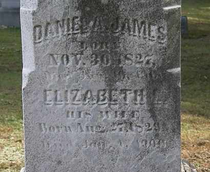 JAMES, ELIZABETH L. - Erie County, Ohio | ELIZABETH L. JAMES - Ohio Gravestone Photos