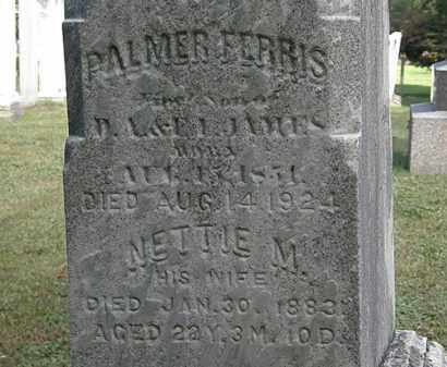 JAMES, PALMER FERRIS - Erie County, Ohio | PALMER FERRIS JAMES - Ohio Gravestone Photos