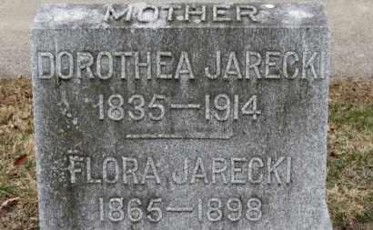 JARECKI, DOROTHEA - Erie County, Ohio | DOROTHEA JARECKI - Ohio Gravestone Photos