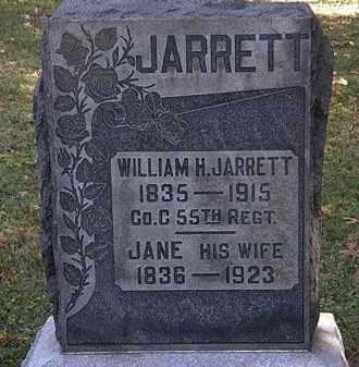 JARRETT, WILLIAM H. - Erie County, Ohio | WILLIAM H. JARRETT - Ohio Gravestone Photos