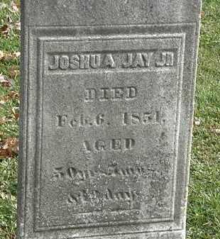 JAY JR., JOSHUA - Erie County, Ohio | JOSHUA JAY JR. - Ohio Gravestone Photos