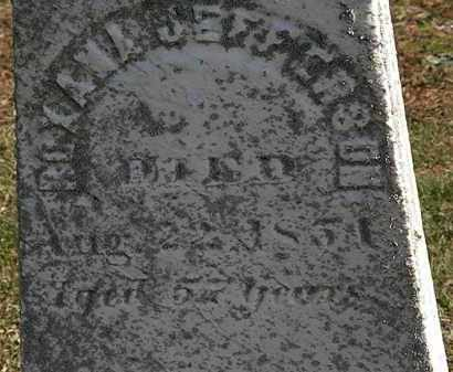 JEFFERSON, ROXANA - Erie County, Ohio   ROXANA JEFFERSON - Ohio Gravestone Photos