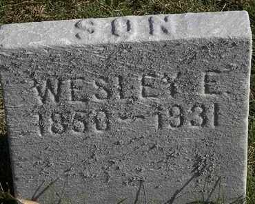 JEFFERSON, WESLEY E. - Erie County, Ohio | WESLEY E. JEFFERSON - Ohio Gravestone Photos