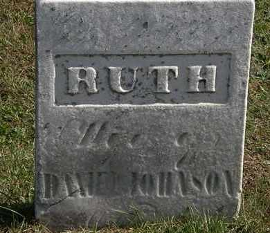 JOHNSON, RUTH - Erie County, Ohio | RUTH JOHNSON - Ohio Gravestone Photos