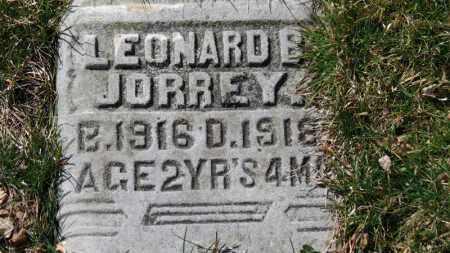 JORREY, LEONARD B. - Erie County, Ohio | LEONARD B. JORREY - Ohio Gravestone Photos