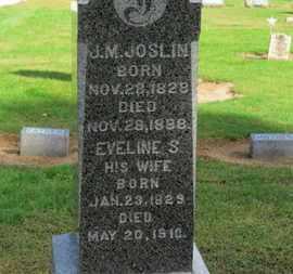 JOSLIN, J.M. - Erie County, Ohio   J.M. JOSLIN - Ohio Gravestone Photos