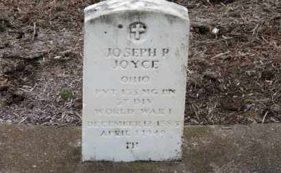 JOYCE, JOSEPH P. - Erie County, Ohio | JOSEPH P. JOYCE - Ohio Gravestone Photos