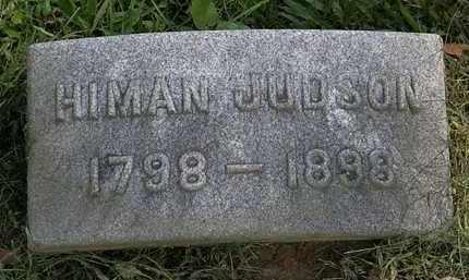 JUDSON, HIMAN - Erie County, Ohio | HIMAN JUDSON - Ohio Gravestone Photos