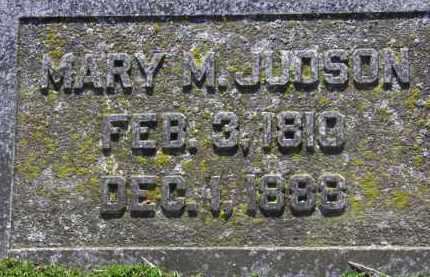 JUDSON, MARY M. - Erie County, Ohio | MARY M. JUDSON - Ohio Gravestone Photos
