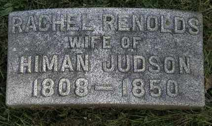 JUDSON, RACHEL - Erie County, Ohio   RACHEL JUDSON - Ohio Gravestone Photos