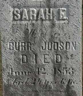 JUDSON, BURR - Erie County, Ohio | BURR JUDSON - Ohio Gravestone Photos