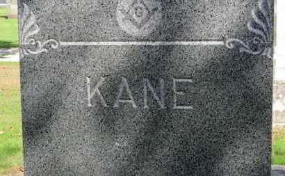 KANE, FAMILY MARKER - Erie County, Ohio | FAMILY MARKER KANE - Ohio Gravestone Photos