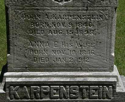 KARPENSTEIN, JOHN A. - Erie County, Ohio | JOHN A. KARPENSTEIN - Ohio Gravestone Photos