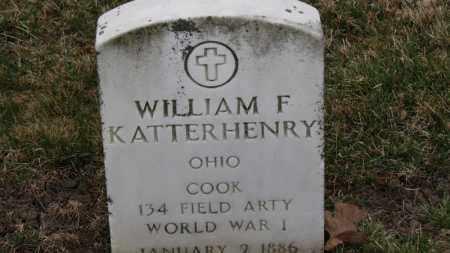KATTERHENRY, WILLIAM F. - Erie County, Ohio | WILLIAM F. KATTERHENRY - Ohio Gravestone Photos